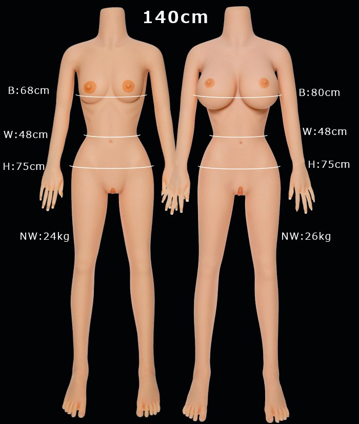 140cm sex doll body