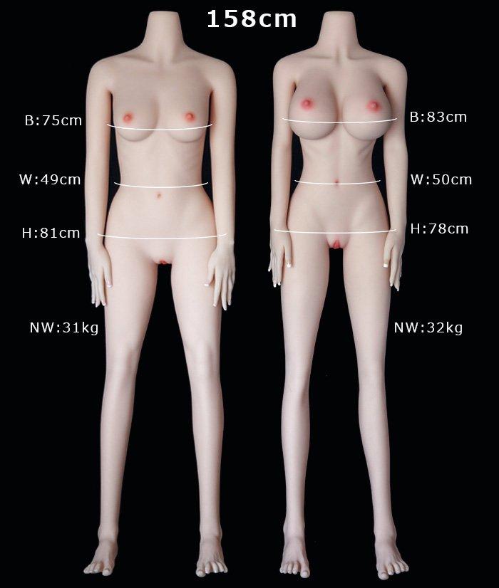 158cm sex doll body