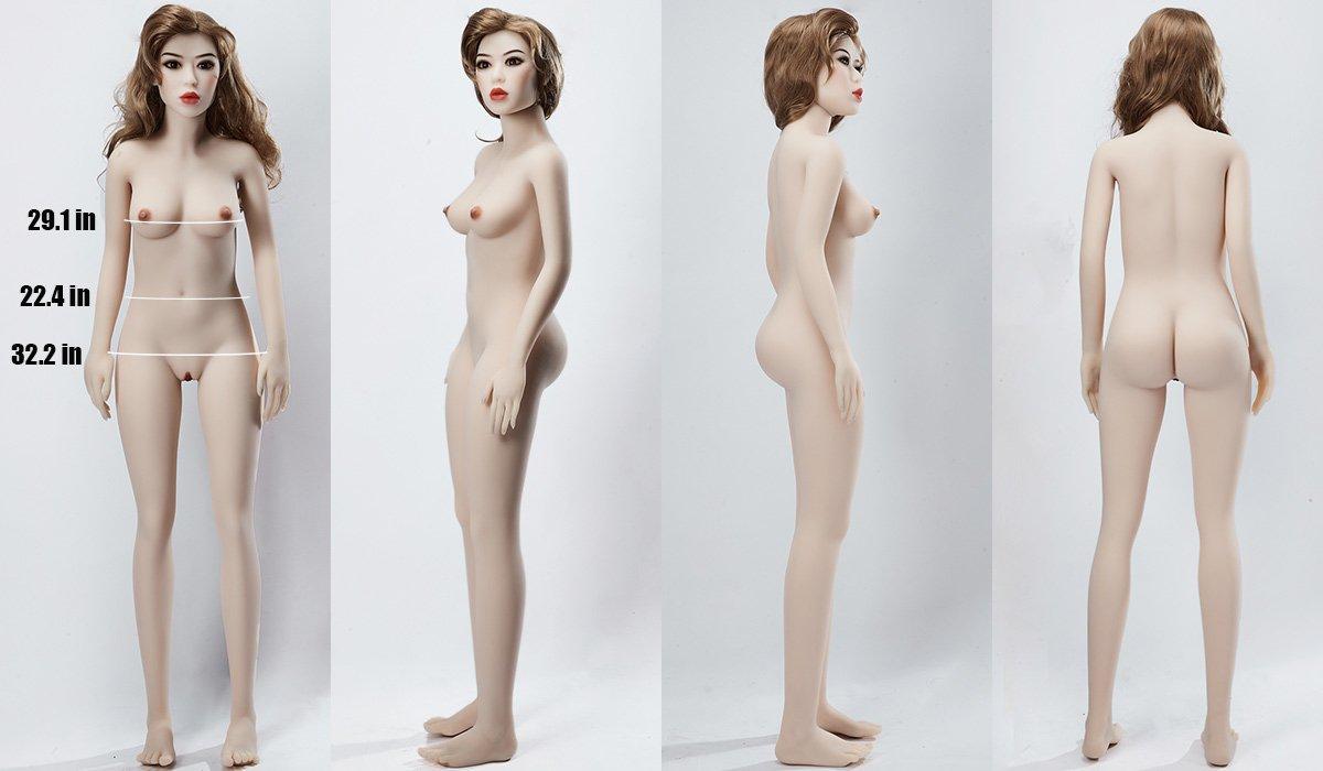 155cm sex doll body