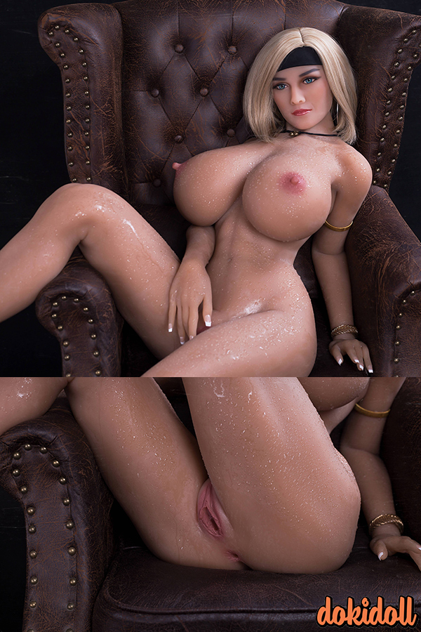 155cm (5ft1″) Lifelike Huge Tits Sex Doll– Addison